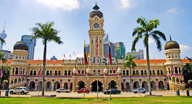 Sultan Abdul Samad Building, Independence Square